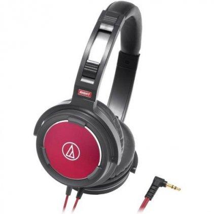 Наушники Audio Technica ATH-WS55 black/red