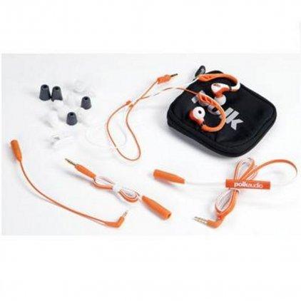 Наушники Polk audio UltraFit 3000 white/orange