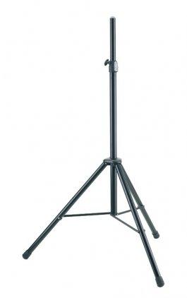K&M K&M 21436-009-55 стойка для акустической системы, диаметр 35мм, высота от 1320 до 2020 мм, алюминий, черная