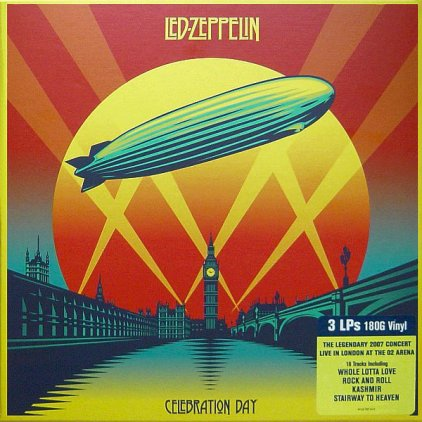 Виниловая пластинка Led Zeppelin CELEBRATION DAY (Box set/180 Gram)
