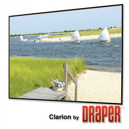 "Draper Clarion HDTV (9:16) 302/119"" 147*264 M1300 (XT1000"