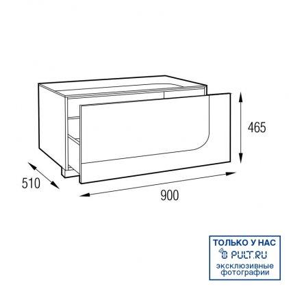Подставка MD 406.0912 Planima (черный/дымчатое стекло)