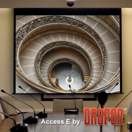 "Экран Draper Access/V HDTV (9:16) 302/119"" 147*264 HDG (XH600V) ebd 12"""