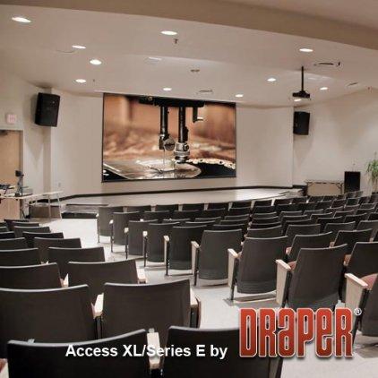 "Экран Draper Access/V HDTV (9:16) 409/161"" 201*356 HDG (XH600V) ebd 12"""