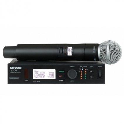 Shure ULXD24E/SM58 K51 606 - 670 MHz