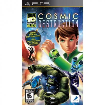 Игра для PSP Ben 10: Ultimate Alien Cosmic Destruction (Essentials) (английская версия)