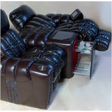 Кресло для домашнего кинотеатра Home Cinema Hall Elit Консоль увеличенная с баром (столешница и электро-привод в комплекте) BIGGAR/40