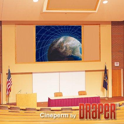 "Draper Cineperm HDTV (9:16) 409/161"" 203x356 HDG (натяжно"