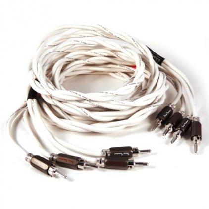 Акустический кабель Black Rhodium Samba 2.0m banan white