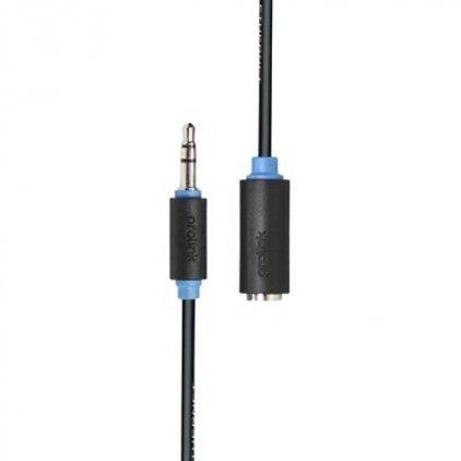 Кабель межблочный Prolink PB106-0150 (3.5Jack - 3.5Jack (M-F), стерео-аудио, 1,5м)