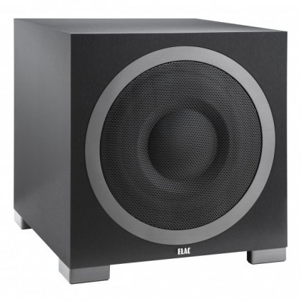ELAC Debut S12EQ black brushed vinyl