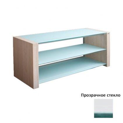Akur Классик 1000 (белый + прозрачное стекло + беленый