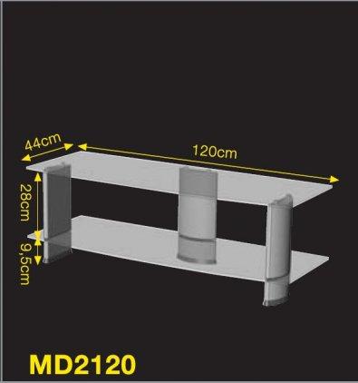 Ultimate MD 2120B silver alu