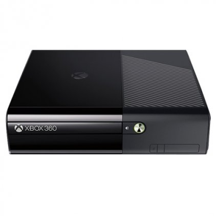 Microsoft Xbox 360 E N7V-00114 + 6FM-00003, черный + память 500 Gb, в комплекте 2 игры: Kinect Sports Ultimate, Kinect Adventures