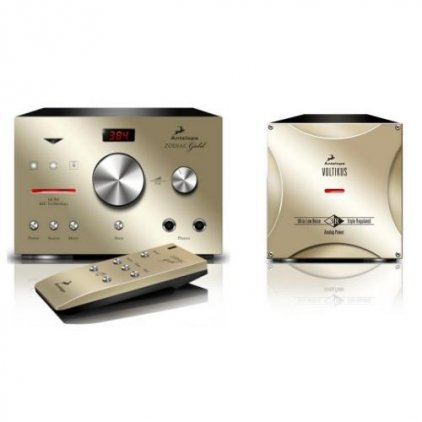 ЦАП Antelope Audio Zodiac Gold Bundle (Voltikus PSU в комплекте) gold