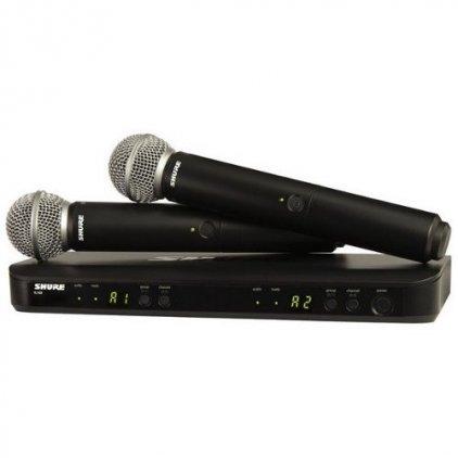Shure BLX288E/SM58 K3E 606-638 MHz