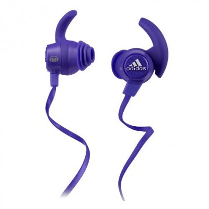 Monster Adidas Perfomance Response Earbud Headphones Purple (128650)