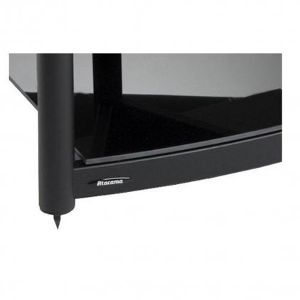 Atacama Equinox Single Shelf Module AV white/piano black (