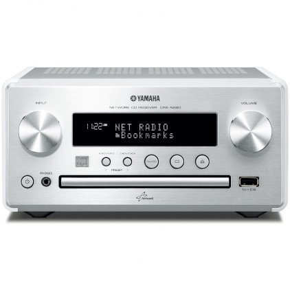 CD ресивер Yamaha CRX-N560 white