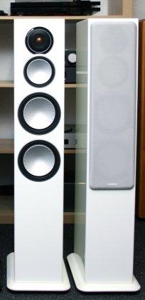 Напольная акустика Monitor Audio Silver 8 high gloss white