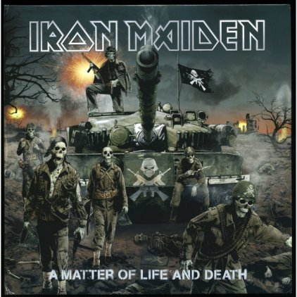 Iron Maiden A MATTER OF LIFE AND DEATH (180 Gram)