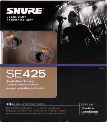 Наушники Shure SE425 clear