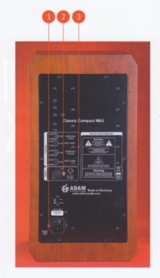 Adam Audio Compact Mk3 walnut
