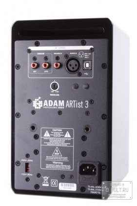 Adam Audio ARTIST 3 black gloss