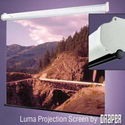 """Экран Draper Luma NTSC (3:4) 305/120"""" (10') 175*234 MW 207010"""