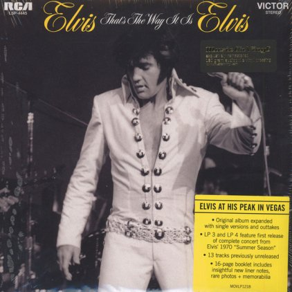 Elvis Presley THAT'S THE WAY IT IS (180 Gram/Remastered/Gatefold)