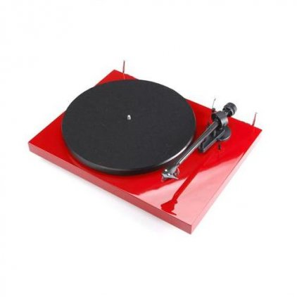 Pro-Ject Debut Carbon (DC) red (Ortofon OM10)