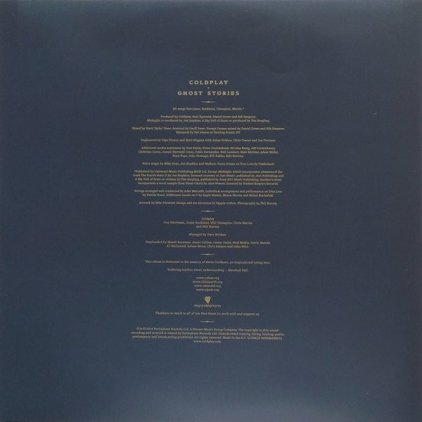 Coldplay GHOST STORIES (180 Gram)