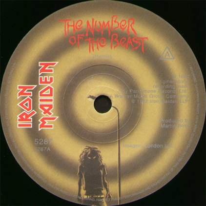 Iron Maiden THE NUMBER OF THE BEAST (Limited)