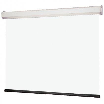 """Draper Luma NTSC 7' MW case white (84"""", 3:4, 127*169)2070"""