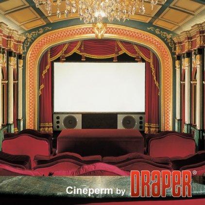 """Draper Cineperm NTSC (3:4) 305/120""""(10) 178*239 CH1200V (CRS)"""