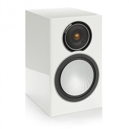 Полочная акустика Monitor Audio Silver 1 high gloss white