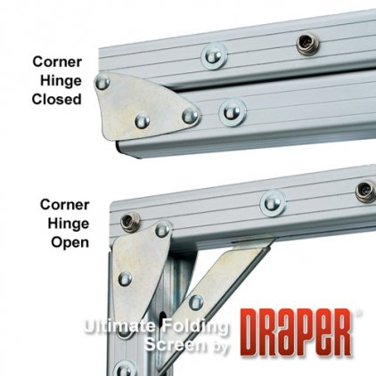"Draper Ultimate Folding Screen NTSC (3:4) 610/240"" 353*475 MW"