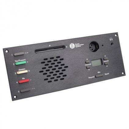 DIS Микрофонный врезной пульт делегата DM 6680 F (для серии DCS6000)