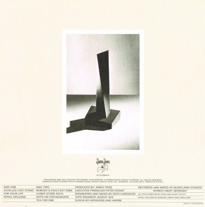 Виниловая пластинка Led Zeppelin PRESENCE (Deluxe Edition/Remastered/180 Gram/Tri-fold sleeve)