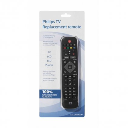 OneForAll Replacement Remote for Philips TVs (URC1913)