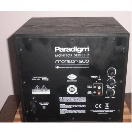 Paradigm Monitor SUB 12 black