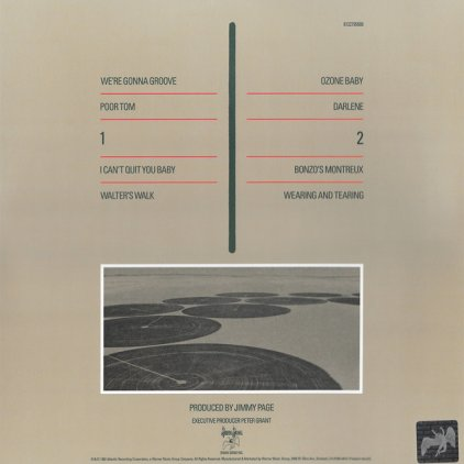 Виниловая пластинка Led Zeppelin CODA (Remastered/180 Gram/Gatefold sleeve)
