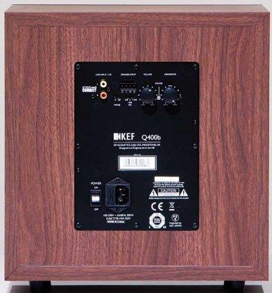 KEF Q400B Walnut EU vinyl