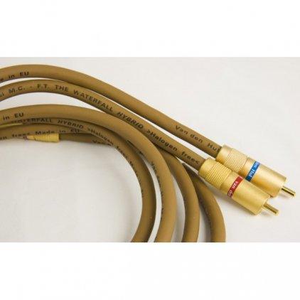 Кабель межблочный аудио Van Den Hul WATERFALL Hybrid pair RCA 1.0m