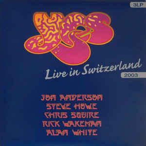 Yes LIVE IN SWITZERLAND (180 Gram)