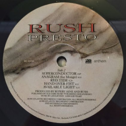 Rush PRESTO (200 Gram)