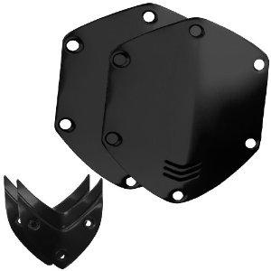 Сменные накладки для наушников V-Moda WIRELESS/M-100/LP2 Over-Ear Metal Shield Kit Shiny Black