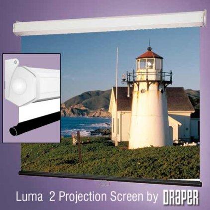 "Экран Draper Luma 2 HDTV (9:16) 302/119"" 147*264 HCG (XH800E)  206082"
