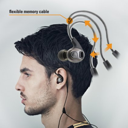 Наушники Audio Technica ATH-SPORT3 RD