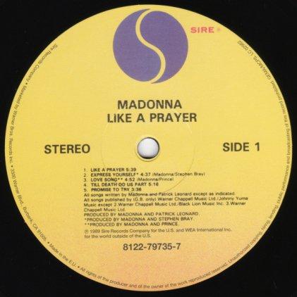 Madonna LIKE A PRAYER (Remastered)